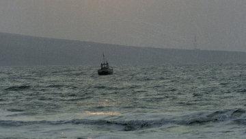 Судно в море. Архив