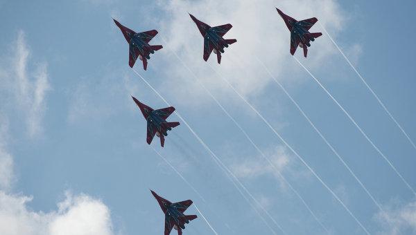 ВКрыму 19ноября состоится авиашоу сучастием «Стрижей» наМиГ-29