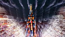 Новогодняя елка и иллюминация